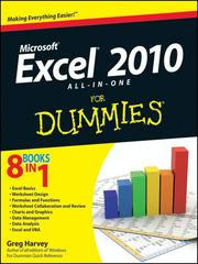 Cover of: Excel® 2010 All-in-One For Dummies®