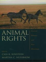 Cover of: Animal Rights