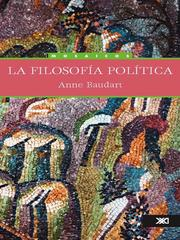 Cover of: La filosofia politica