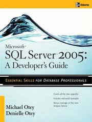 Cover of: Microsoft® SQL ServerTM 2005