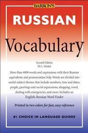 Cover of: Russian Vocabulary