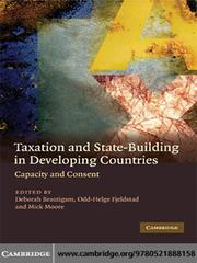 Cover of: Taxation and State-Building in Developing Countries