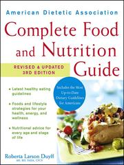 Cover of: American Dietetic Association Complete Food and Nutrition Guide