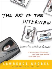 Cover of: The Art of the Interview