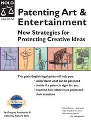 Cover of: Patenting Art & Entertainment