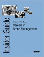 Cover of: Careers in Brand Management