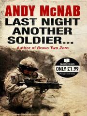 Cover of: Last Night Another Soldier