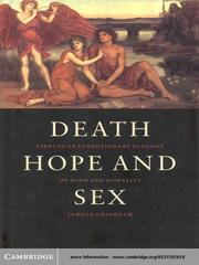 Cover of: Death, Hope and Sex