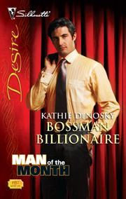 Cover of: Bossman Billionaire
