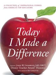 Cover of: Today I Made a Difference