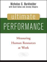 Cover of: Ultimate Performance