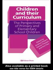 Cover of: Children And Their Curriculum