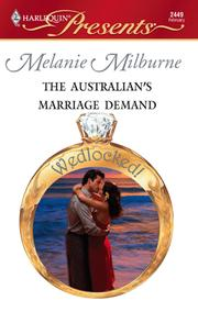 Cover of: The Australian's Marriage Demand
