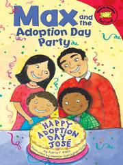Cover of: Max and the Adoption Day Party