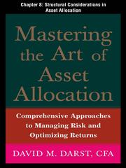 Cover of: Structural Considerations in Asset Allocation