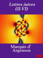 Cover of: Lettres juives (II - VI)