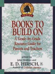 Cover of: Books to Build On