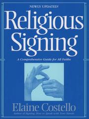 Cover of: Religious Signing