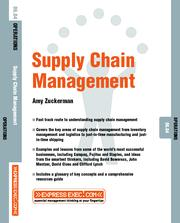 Cover of: Supply Chain Management