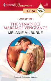Cover of: The Venadicci Marriage Vengeance