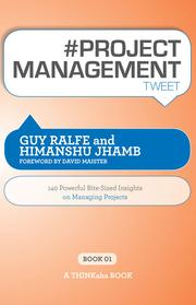 Cover of: #PROJECT MANAGEMENT tweet Book01