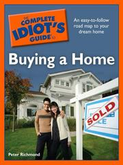 Cover of: The Complete Idiot's Guide to Buying a Home
