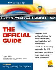 Cover of: CorelPHOTO-PAINT® 10