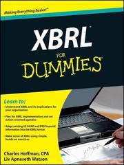 Cover of: XBRL For Dummies