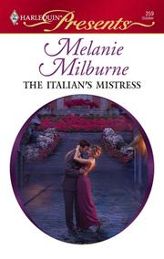 Cover of: The Italian's Mistress