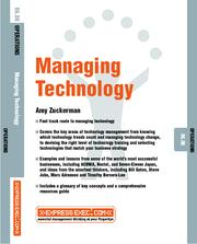 Cover of: Technology Management