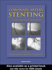 Cover of: Coronary Artery Stenting