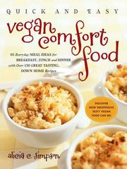 Cover of: Quick and Easy Vegan Comfort Food