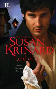 Cover of: Lord of Sin