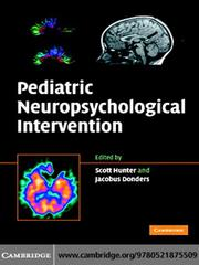 Cover of: Pediatric Neuropsychological Intervention