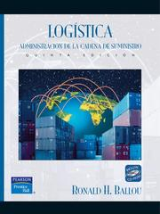Cover of: Logistica