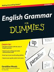 Cover of: English Grammar For Dummies