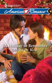 Cover of: A Holiday to Remember