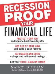 Cover of: Recession-Proof Your Financial Life