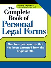 Cover of: Specific Power of Attorney
