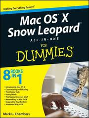 Cover of: Mac OS X Snow Leopard All-in-One For Dummies