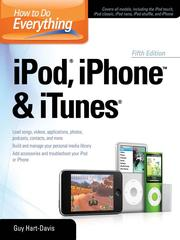 Cover of: How to Do Everything iPod®, iPhoneTM & iTunes®