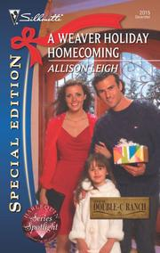 Cover of: A Weaver Holiday Homecoming