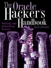 Cover of: The Oracle Hacker's Handbook