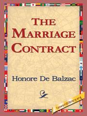 Cover of: The Marriage Contract