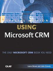 Cover of: Special Edition Using Microsoft CRM