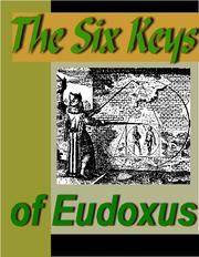 Cover of: The Six Keys of Eudoxus