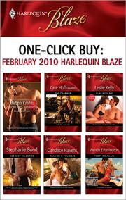 Cover of: One-Click Buy: February 2010 Harlequin Blaze