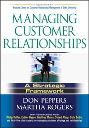 Cover of: Managing Customer Relationships