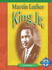 Cover of: Martin Luther King, Jr.