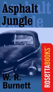 Cover of: Asphalt Jungle